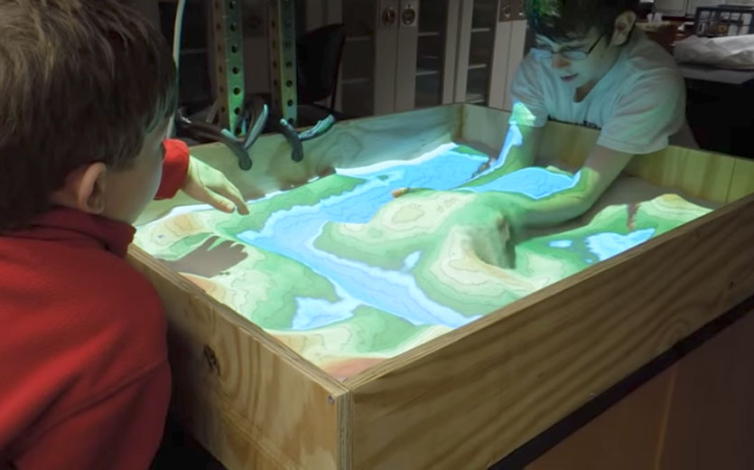 Augmented-Reality-Sandbox